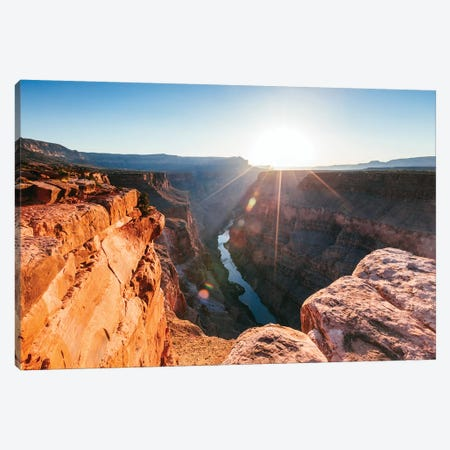 Sunrise On The Grand Canyon Canvas Print #TEO637} by Matteo Colombo Canvas Artwork