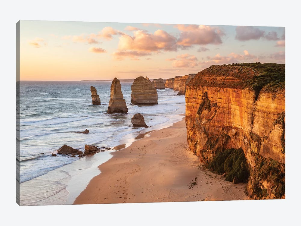 Sunset Over Famous Twelve Apostles, Australia by Matteo Colombo 1-piece Art Print