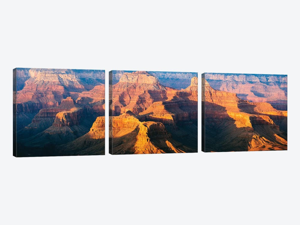 Sunset Over The South Rim, Grand Canyon I by Matteo Colombo 3-piece Canvas Art