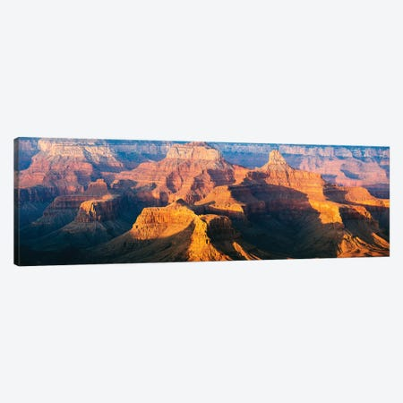 Sunset Over The South Rim, Grand Canyon I Canvas Print #TEO644} by Matteo Colombo Canvas Art Print