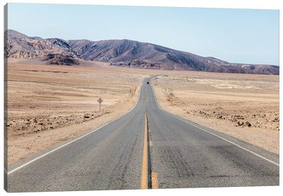Through The Death Valley Canvas Art Print