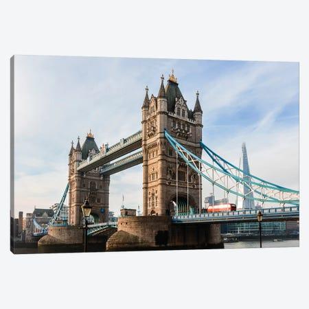 Tower Bridge, London, UK I Canvas Print #TEO660} by Matteo Colombo Canvas Artwork