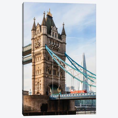 Tower Bridge, London, UK II Canvas Print #TEO661} by Matteo Colombo Canvas Artwork