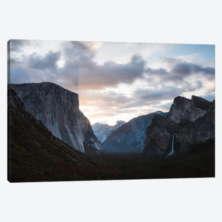 Tunnel View, Yosemite I Canvas Print #TEO662} by Matteo Colombo Canvas Artwork