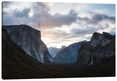Tunnel View, Yosemite I Canvas Art Print
