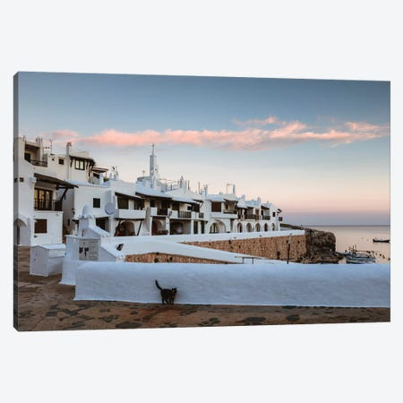 White Town, Menorca, Spain III Canvas Print #TEO669} by Matteo Colombo Canvas Art