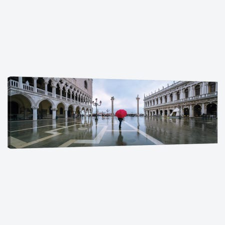 Woman In Venice Canvas Print #TEO670} by Matteo Colombo Canvas Print
