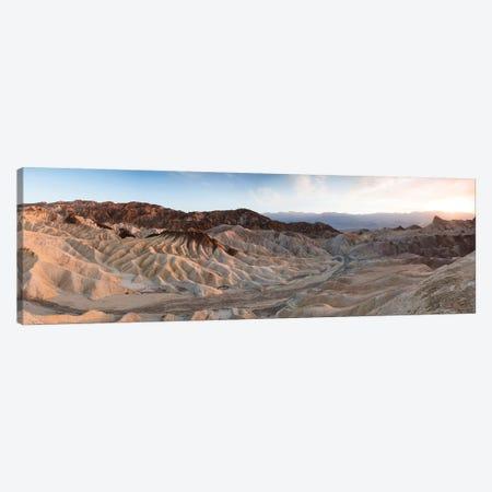 Zabriskie Point Sunset, Death Valley I Canvas Print #TEO675} by Matteo Colombo Canvas Artwork