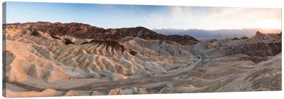 Zabriskie Point Sunset, Death Valley I Canvas Art Print