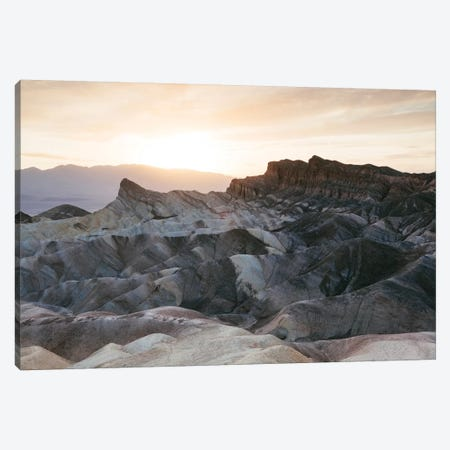 Zabriskie Point Sunset, Death Valley II Canvas Print #TEO676} by Matteo Colombo Canvas Art