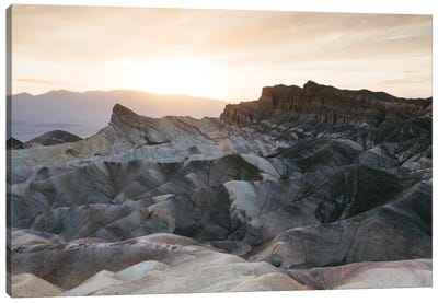 Zabriskie Point Sunset, Death Valley II Canvas Art Print