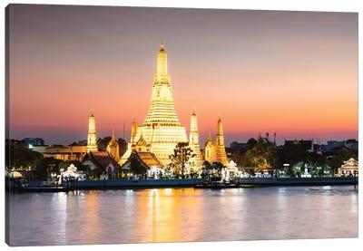 Temple of Dawn, Bangkok, Thailand Canvas Art Print