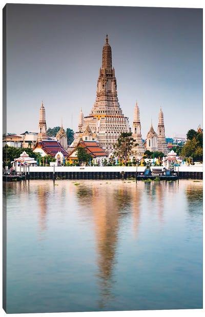 The Temple Of Dawn, Bangkok Canvas Art Print
