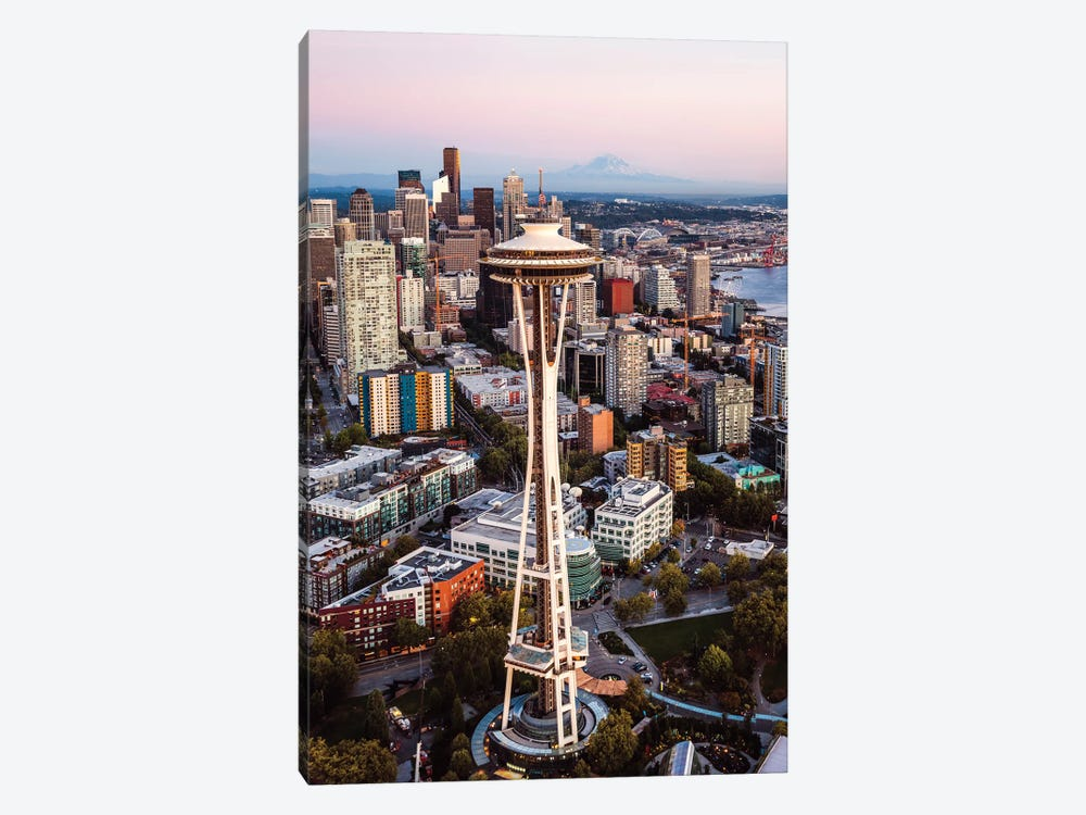 Seattle Sunset III by Matteo Colombo 1-piece Canvas Print