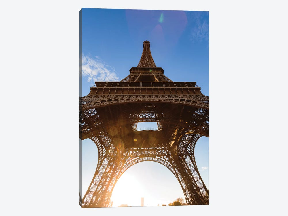 Under Eiffel Tower by Matteo Colombo 1-piece Canvas Print