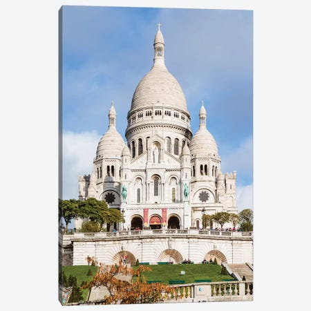 Sacre Coeur Basilica, Paris Canvas Print #TEO723} by Matteo Colombo Art Print