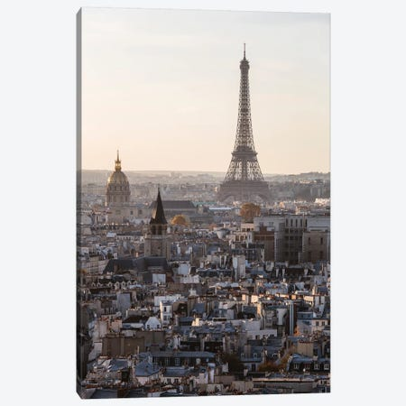 Paris Icon 3-Piece Canvas #TEO725} by Matteo Colombo Canvas Art