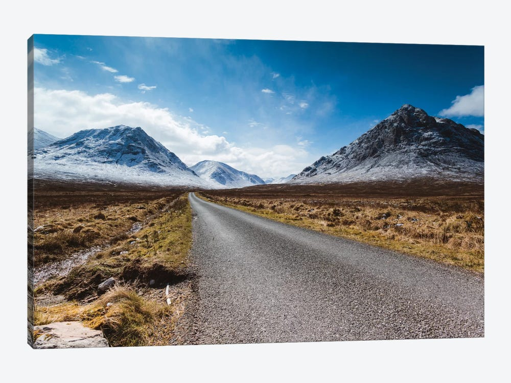 Road To The Highlands, Glencoe, Scotland, United Kingdom by Matteo Colombo 1-piece Canvas Wall Art
