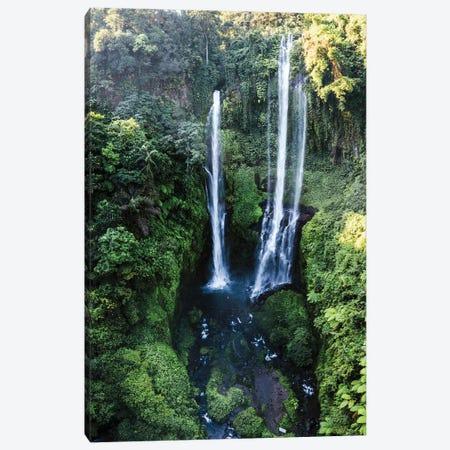 Bali Waterfall I Canvas Print #TEO742} by Matteo Colombo Art Print