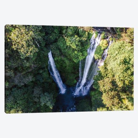 Bali Waterfall II Canvas Print #TEO743} by Matteo Colombo Canvas Print