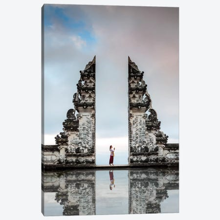 The Gate Of Heaven, Bali Canvas Print #TEO749} by Matteo Colombo Art Print