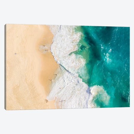 Beach And Waves I Canvas Print #TEO757} by Matteo Colombo Canvas Print