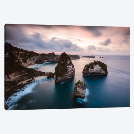 Thousand Islands, Nusa Penida Canvas Print #TEO760} by Matteo Colombo Canvas Print