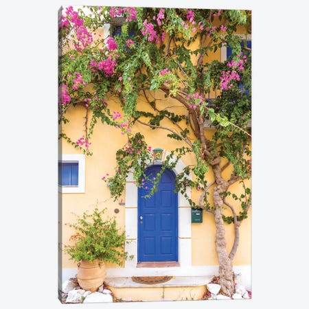 Typical Greek House Canvas Print #TEO764} by Matteo Colombo Canvas Art