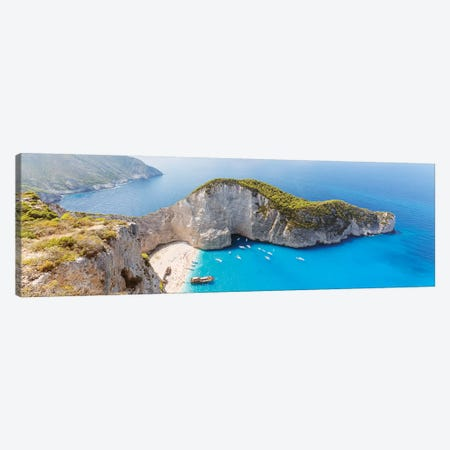 Summer In Greece Canvas Print #TEO765} by Matteo Colombo Canvas Art