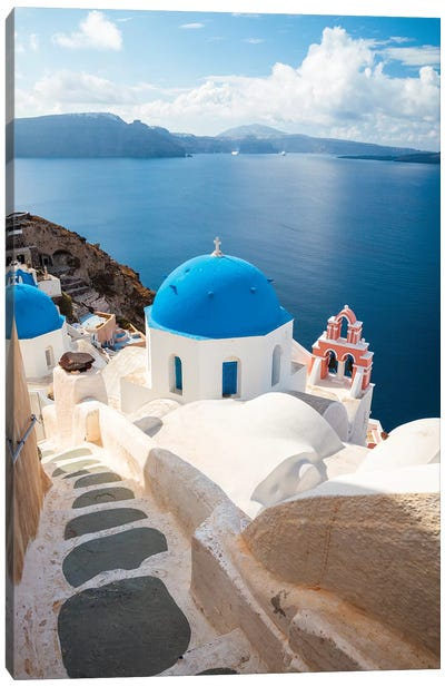 Oia, Santorini Canvas Art Print