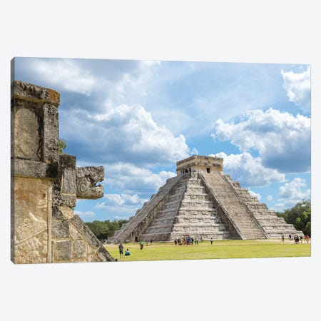 Chichen Itza Ruins, Mexico Canvas Print #TEO775} by Matteo Colombo Canvas Print