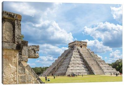 Chichen Itza Ruins, Mexico Canvas Art Print