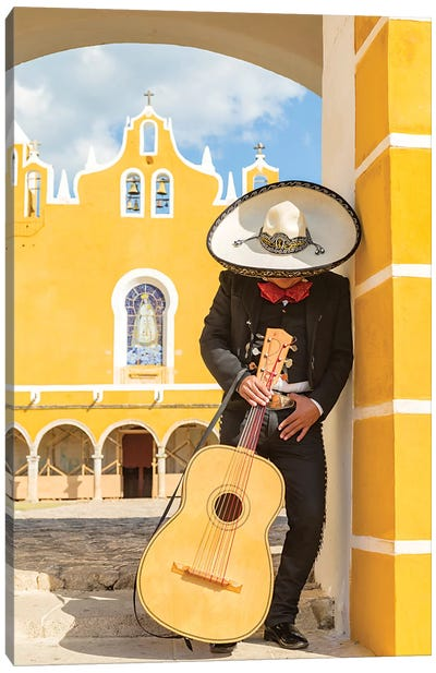 Mexican Mariachi Canvas Art Print