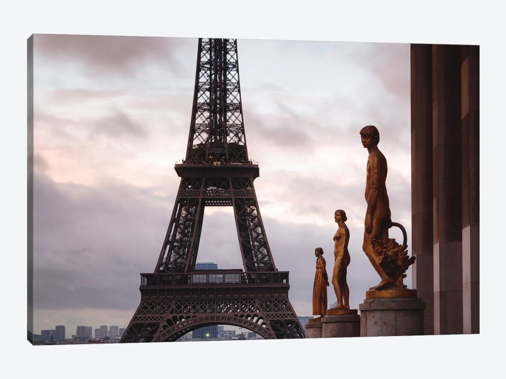 Second Level, Eiffel Tower, Paris, Ile-de-France, France by Matteo Colombo 1-piece Canvas Wall Art