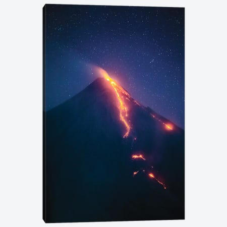Volcanic Eruption II Canvas Print #TEO785} by Matteo Colombo Canvas Art