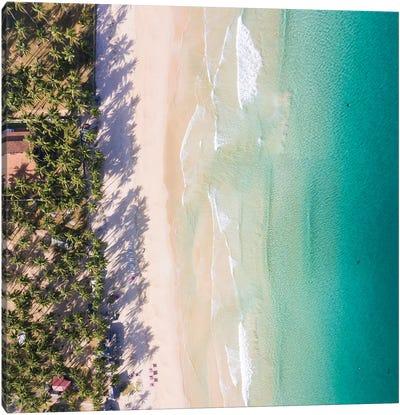 Idyllic Beach, Philippines Canvas Art Print