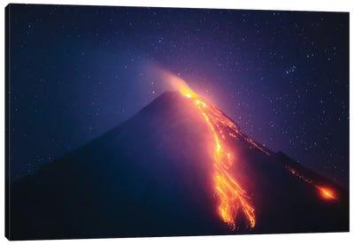 Volcanic Eruption I Canvas Art Print