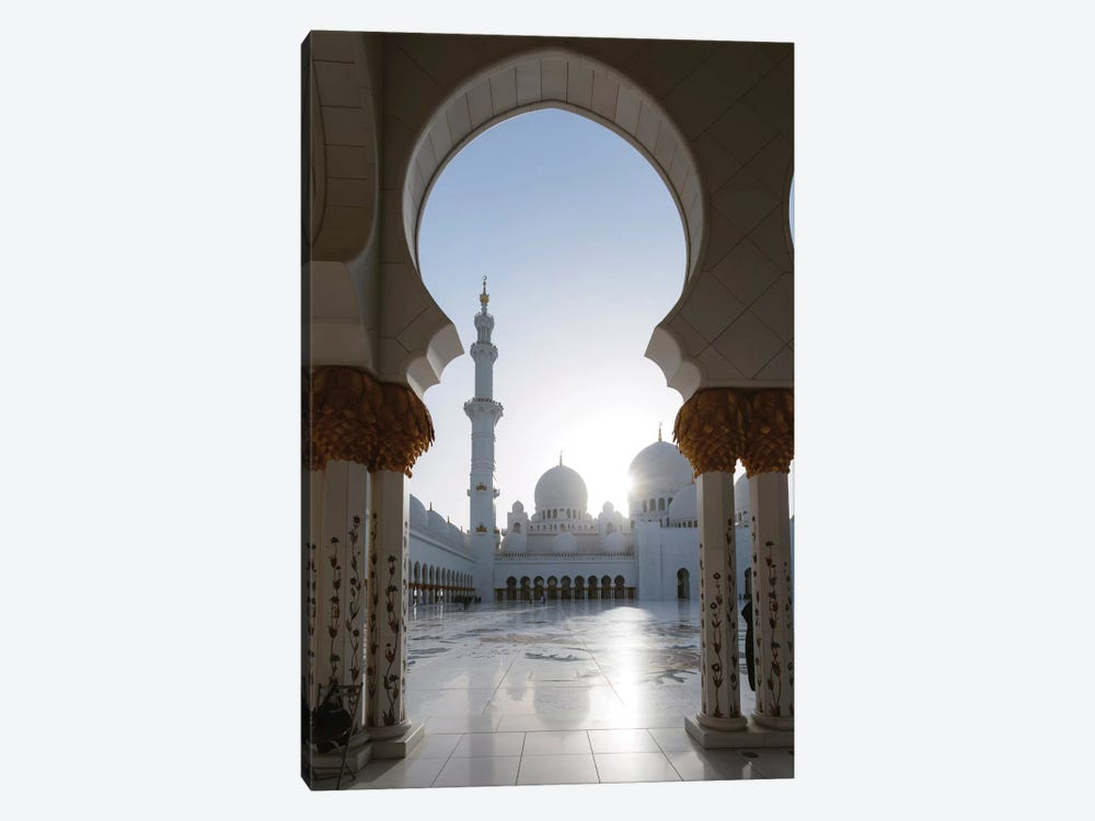 Sheikh Zayed Grand Mosque, Abu Dhabi, United Arab Emirates 1-piece Art Print
