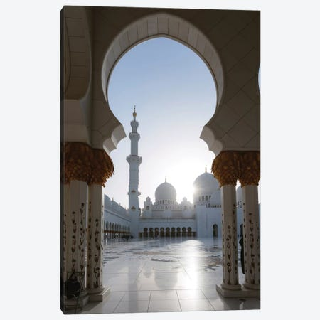 Sheikh Zayed Grand Mosque, Abu Dhabi, United Arab Emirates Canvas Print #TEO78} by Matteo Colombo Canvas Art Print