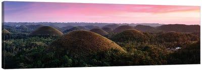 Chocolate Hills Sunset III Canvas Art Print