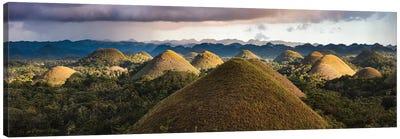 Chocolate Hills Sunset II Canvas Art Print