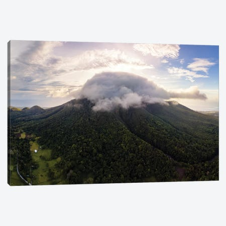 Camiguin Volcano, Philippines Canvas Print #TEO799} by Matteo Colombo Canvas Artwork