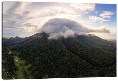 Camiguin Volcano, Philippines Canvas Art Print