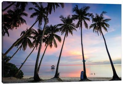 Beach Sunset, Philippines Canvas Art Print