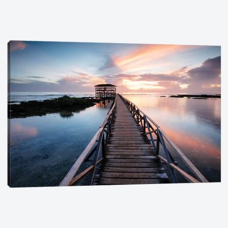Cloud 9, Siargao, Philippines Canvas Print #TEO802} by Matteo Colombo Canvas Artwork