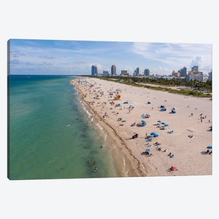 South Beach, Miami Canvas Print #TEO807} by Matteo Colombo Canvas Print