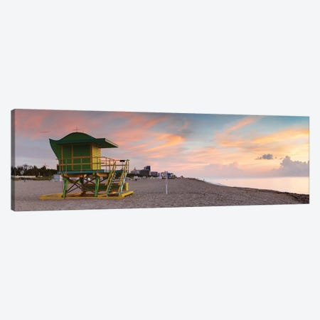 Miami Beach Sunrise Canvas Print #TEO809} by Matteo Colombo Canvas Art