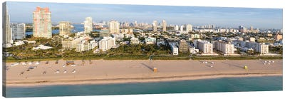Miami Beach Panorama Canvas Art Print
