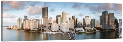 Miami Downtown At Sunrise Canvas Art Print