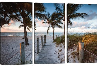 Beach Sunrise, Key West I Canvas Art Print
